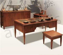 Granj Wooden Executive Desk