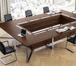 Gloss Meeting Table